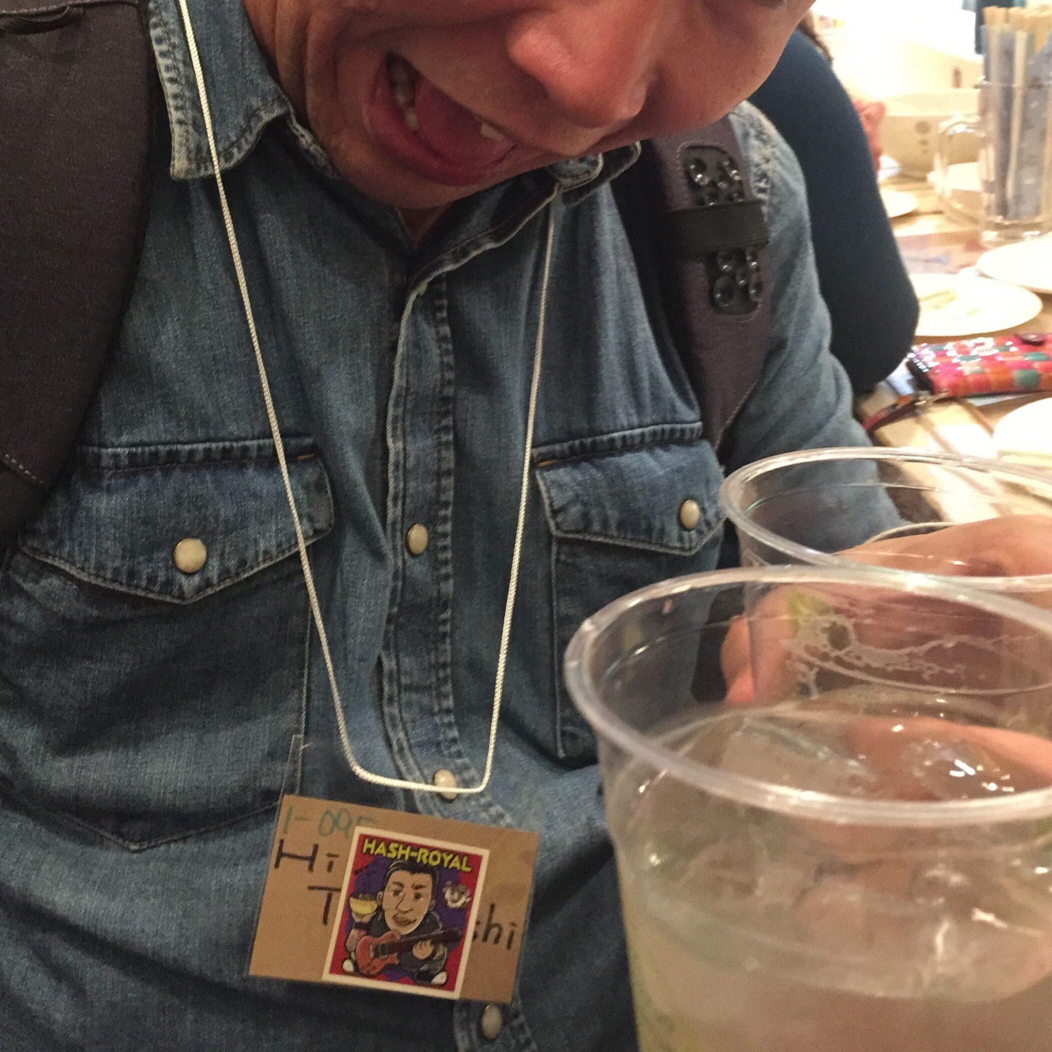 ゆいま~る食堂 原宿店&原宿バル HAPPY CAMPER@原宿 森本聡子とラーメン食べ歩き隊ッ! 大新年会 HASH-ROYAL