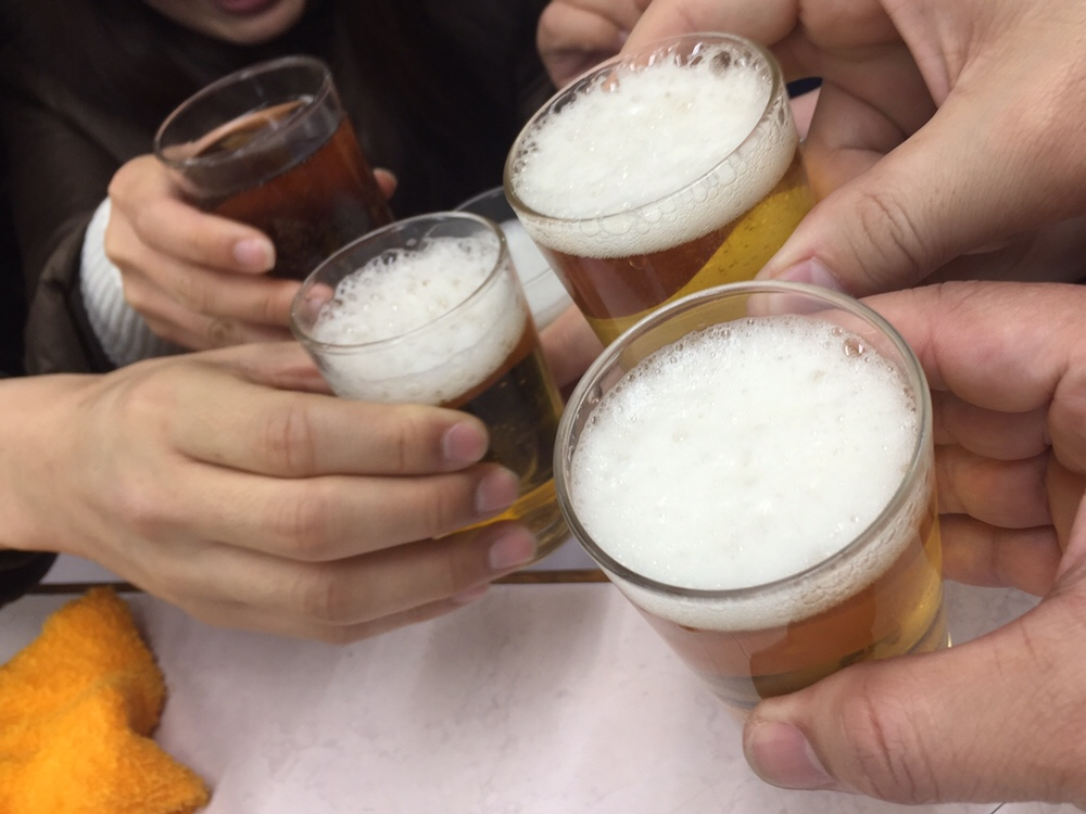 岐阜屋@新宿 乾杯