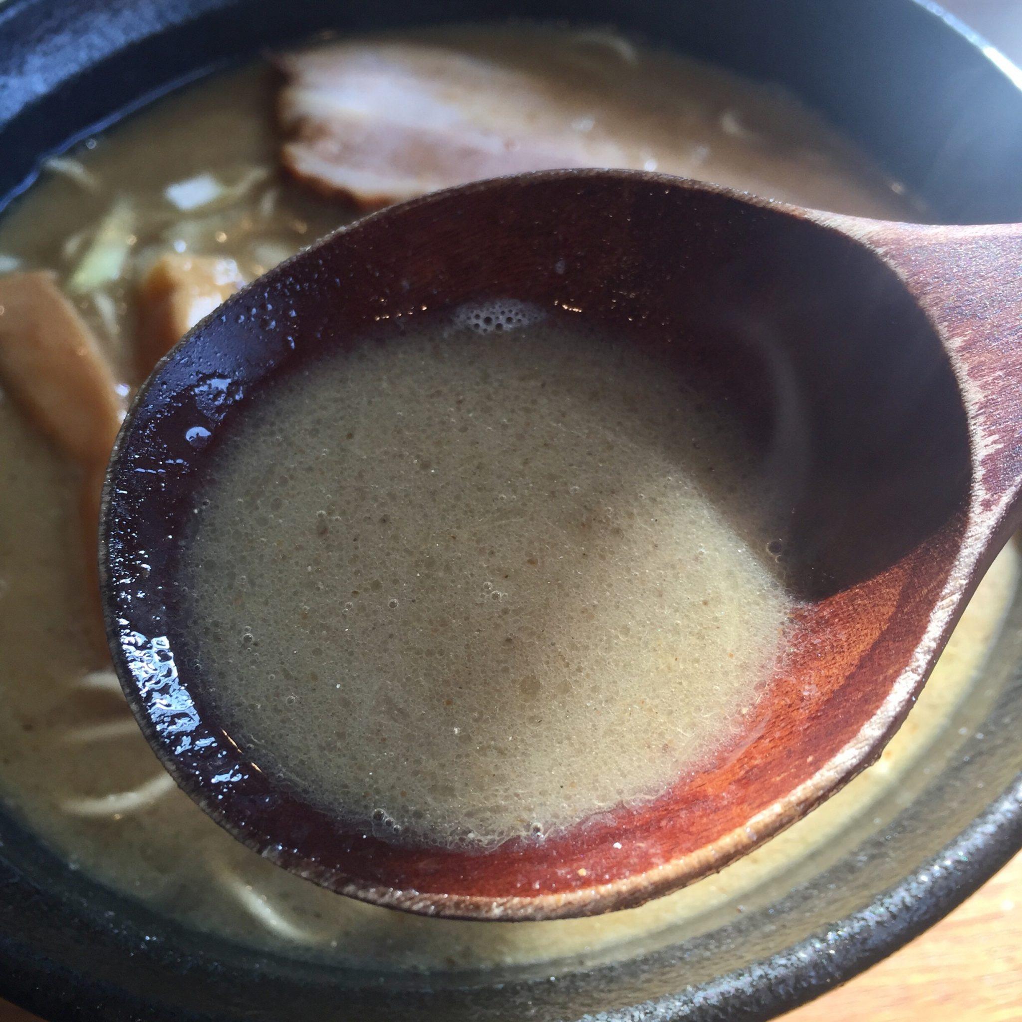 店内製麺さくら 瀬戸内産イワシの煮干し麺 スープ