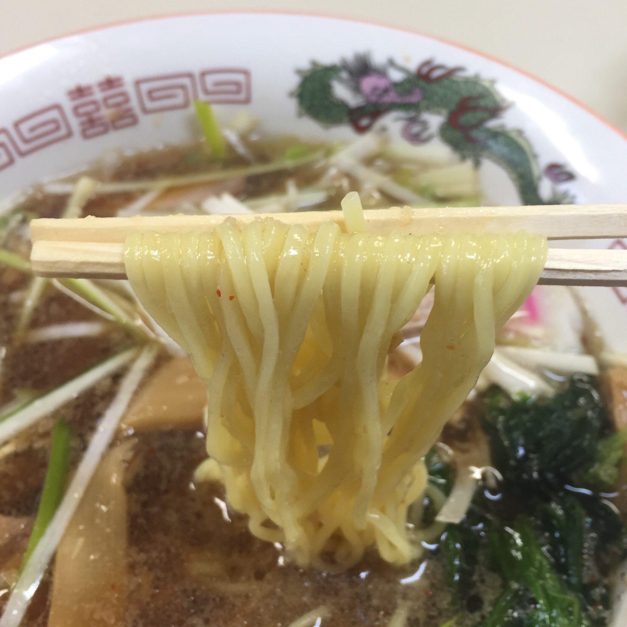 拉麺職人 満大 ネギつけ麺 麺