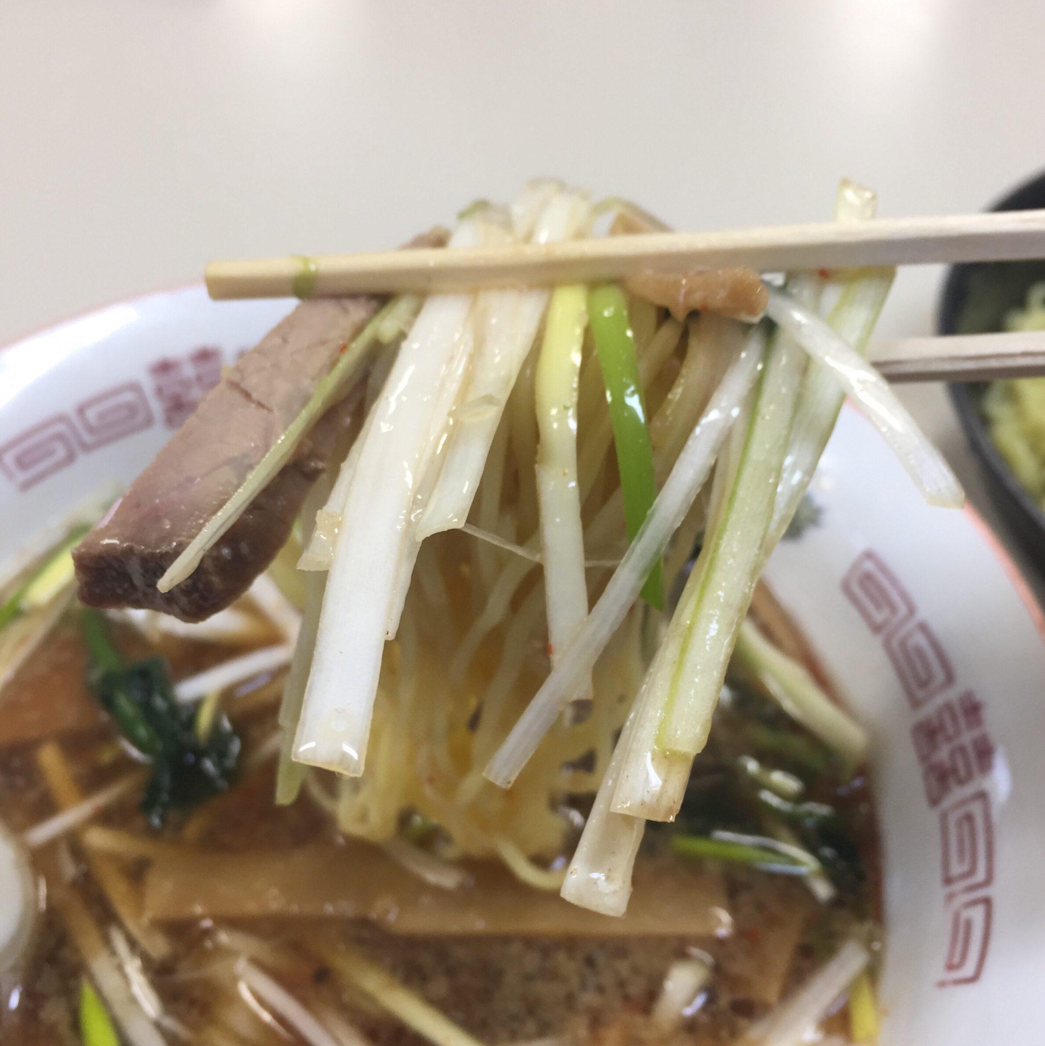 拉麺職人 満大 ネギつけ麺 麺 具