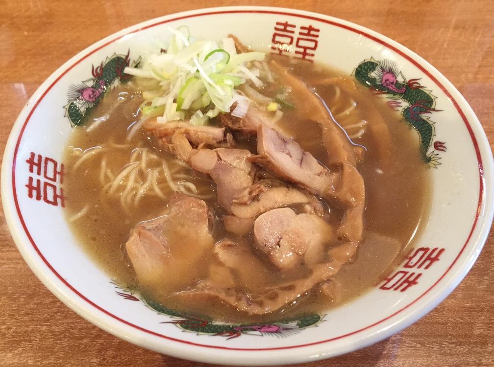 濃厚鶏ガラ 中華そば 東一(あずまいち) 出汁チャーシュー麺 出汁中華そば