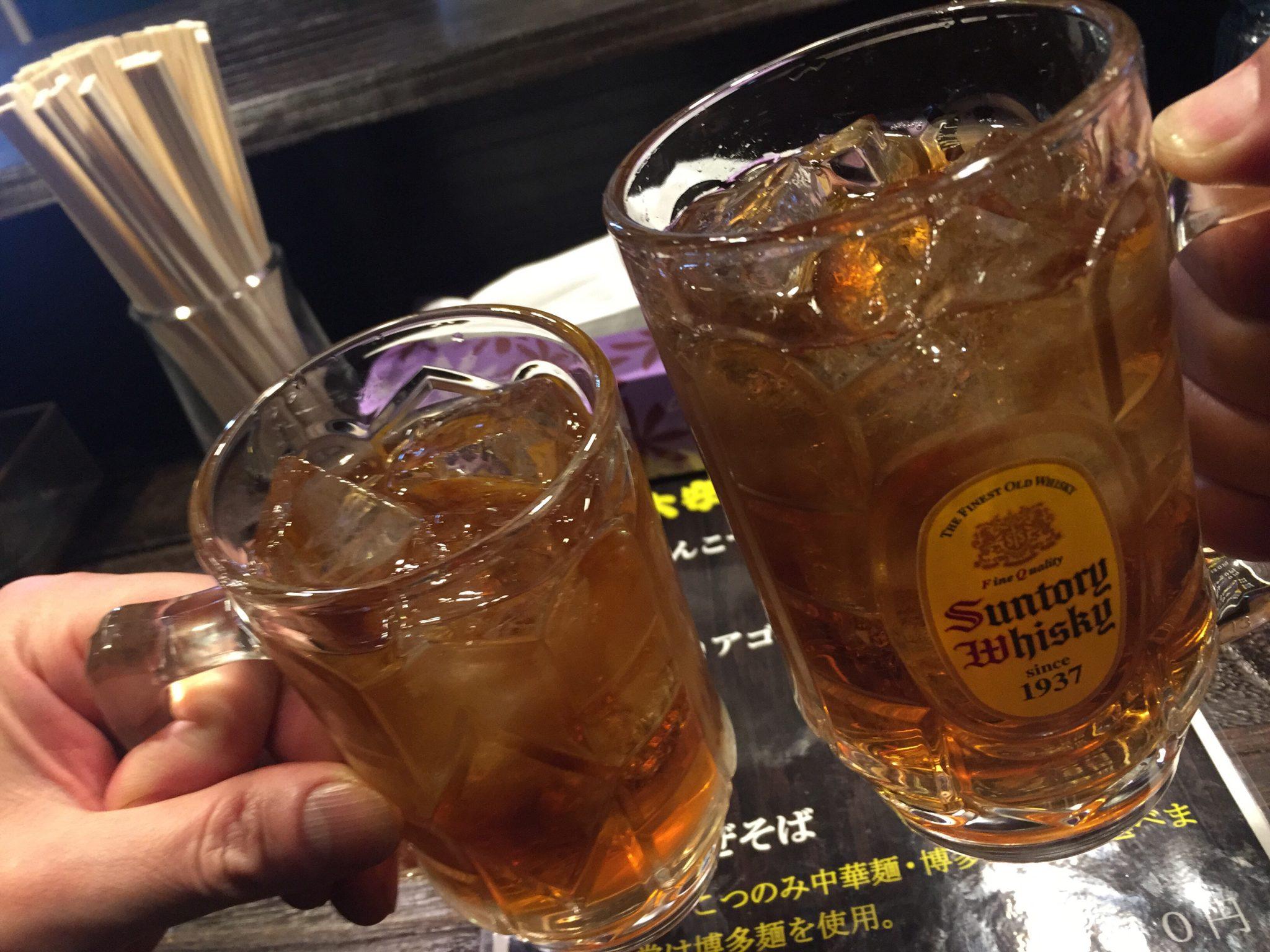 大安ラーメン 乾杯