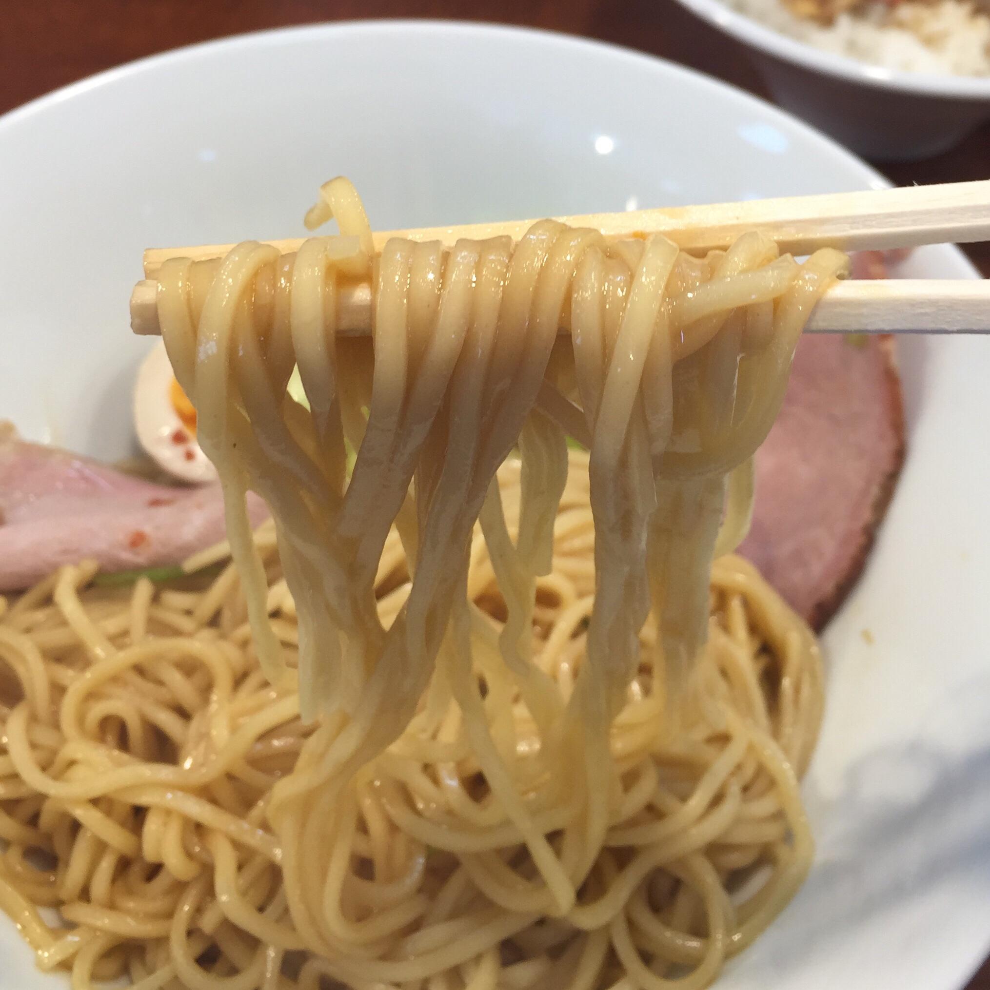 柳麺 多むら 外旭川店 まぜそば 麺