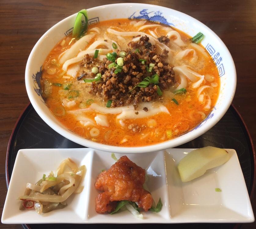 中国料理 甜甜酒楼 四川胡麻担々刀削麺