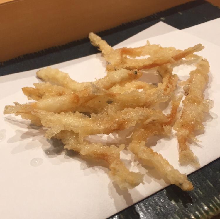 秋田 てんぷら みかわ 白魚