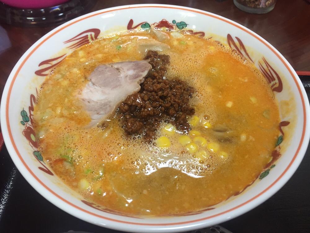 担々麺の店 福の家北店 担々麺