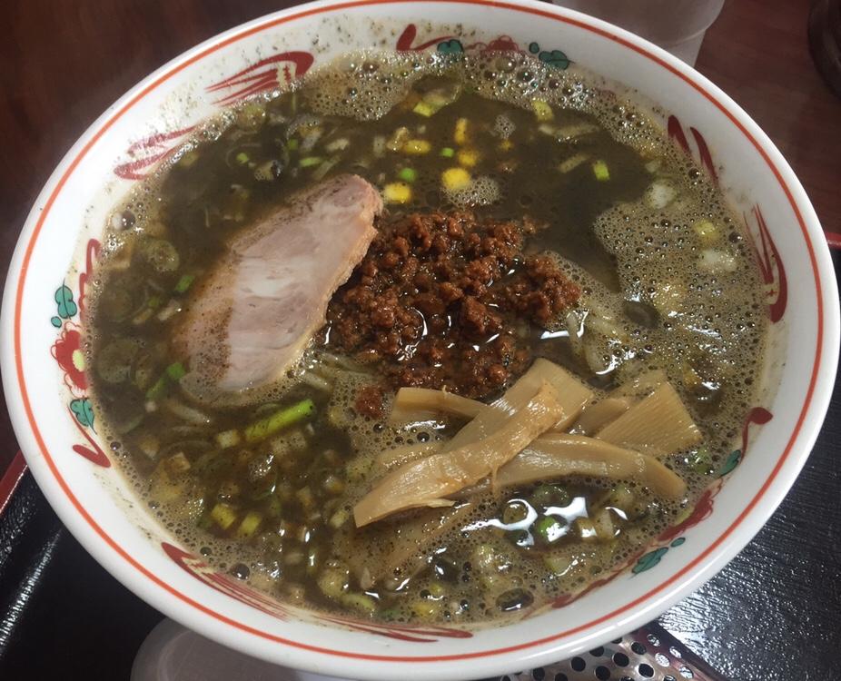 担々麺の店 福の家北店 黒ゴマ担々麺