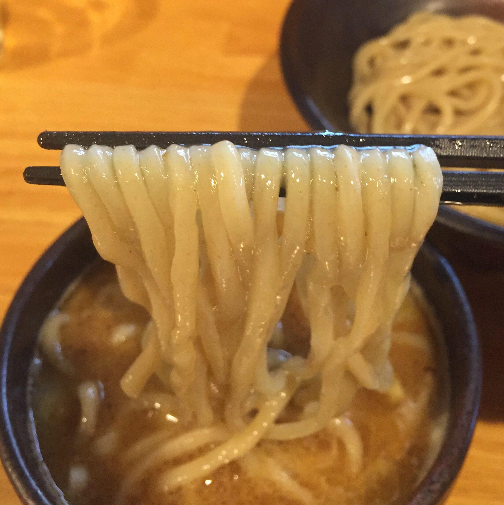 麺屋 新三 つけめん 麺