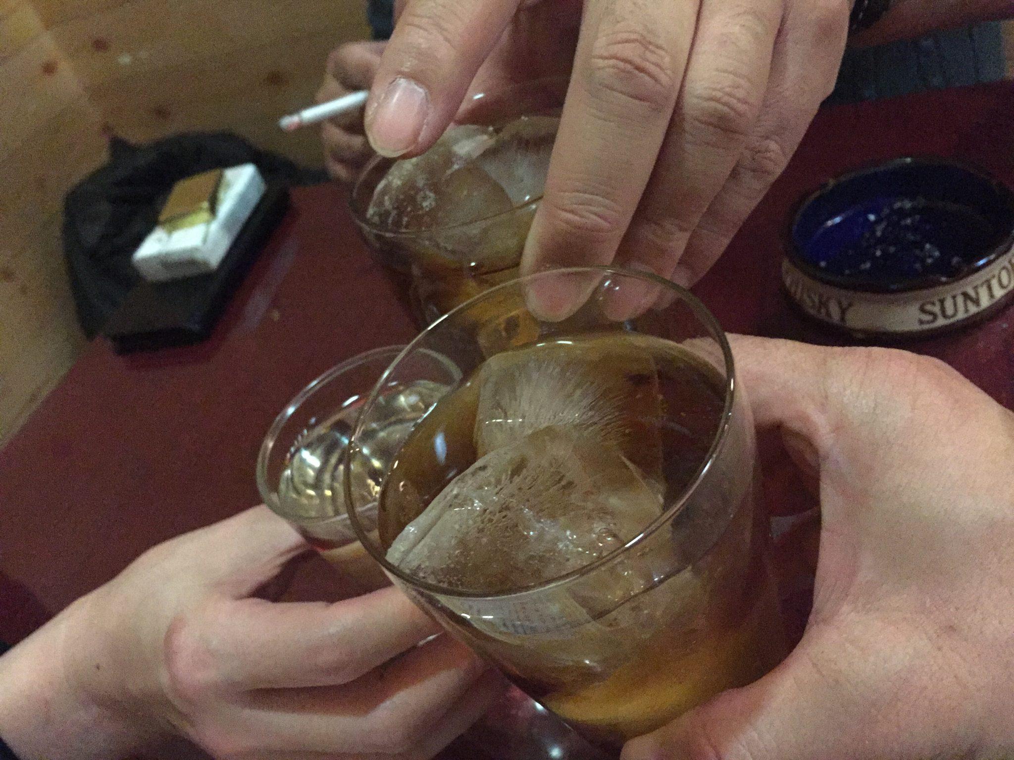 秋田式ラーメン 河南 乾杯