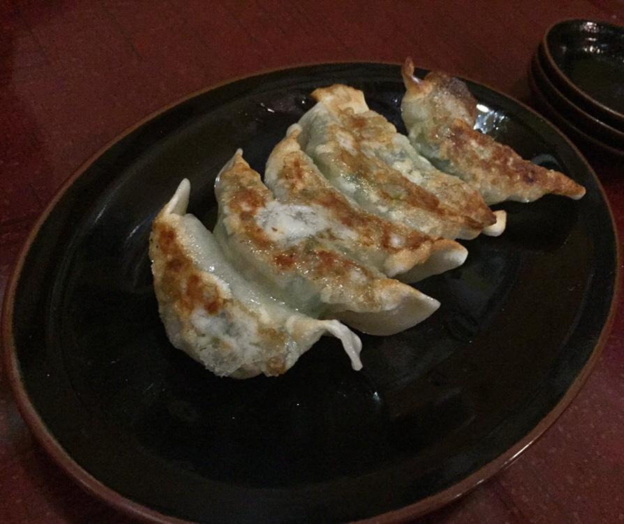 秋田式ラーメン 河南 ギョーザ 餃子