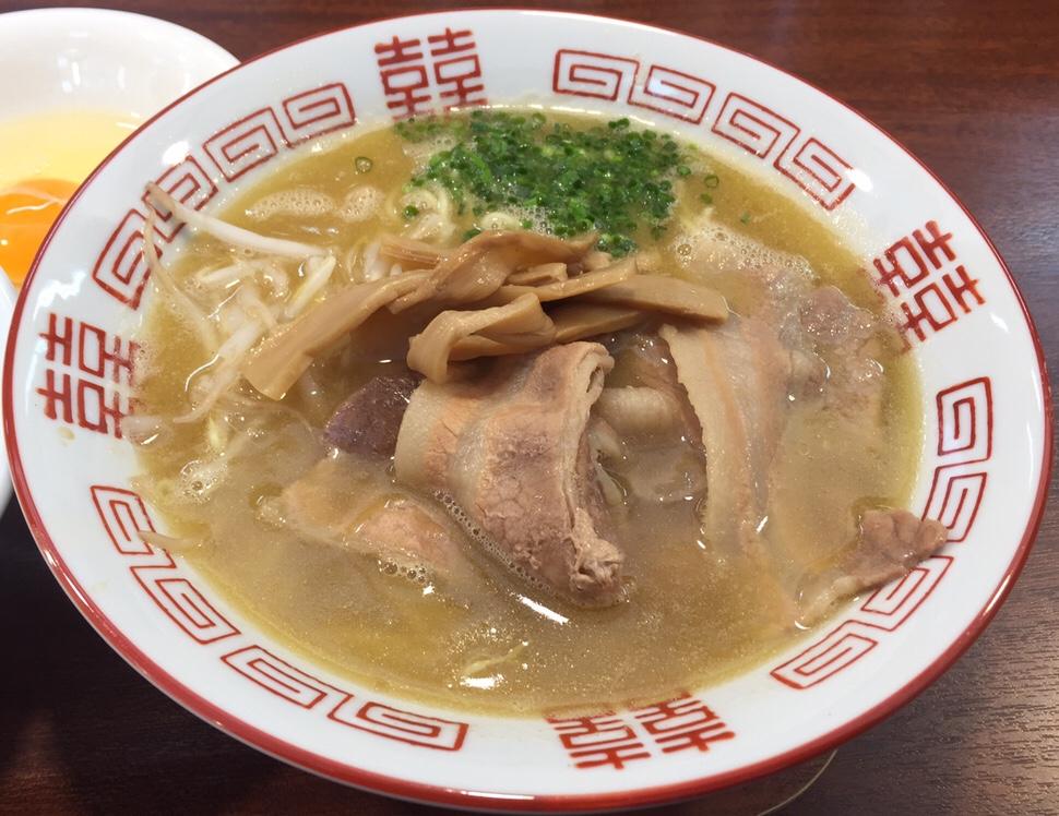 柳麺 多むら 外旭川店 徳島風中華そば ご飯付き