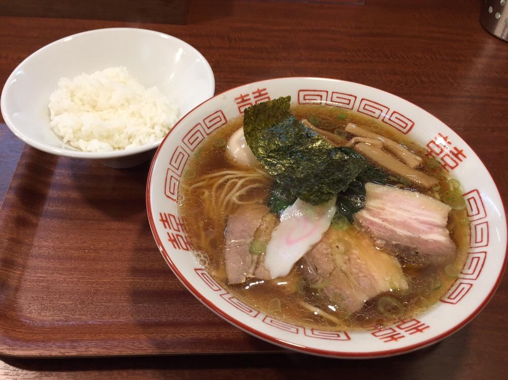 柳麺 多むら 外旭川店 新潟県長岡風生姜醤油らぁ麺
