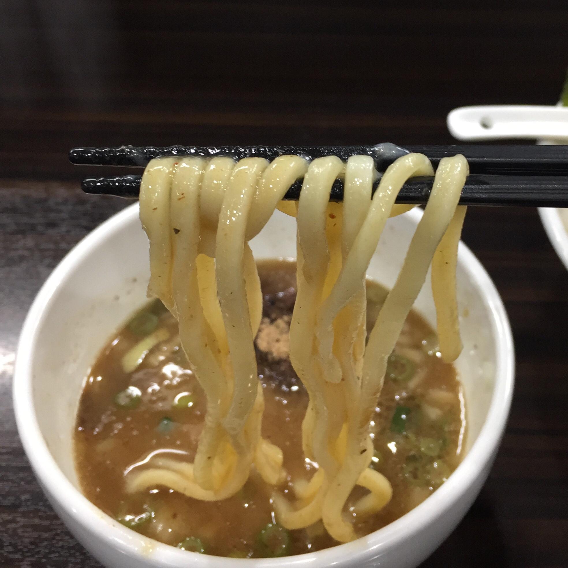 打ち立て中華そば 自家製麺5102 つけめん 麺