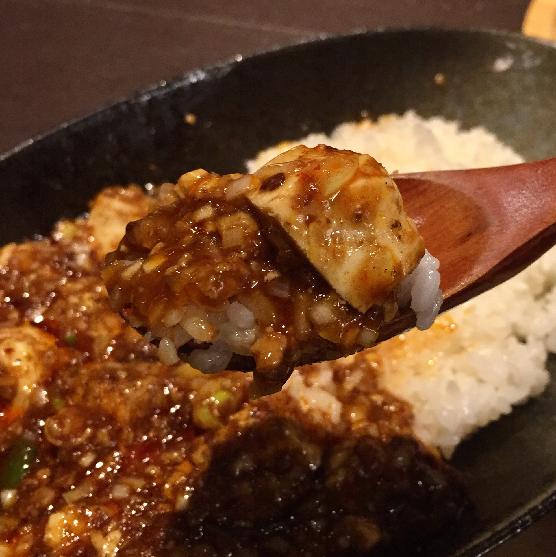 四川Dining&bar 臥龍 創香(がりゅう そうしゃん) 陳麻婆丼