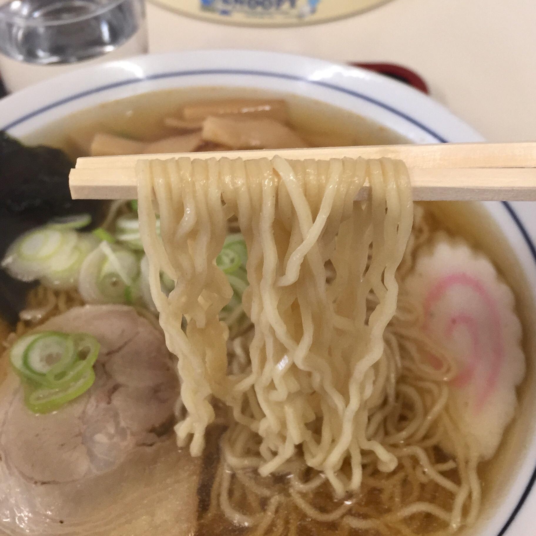安楽食堂 中華そば 麺