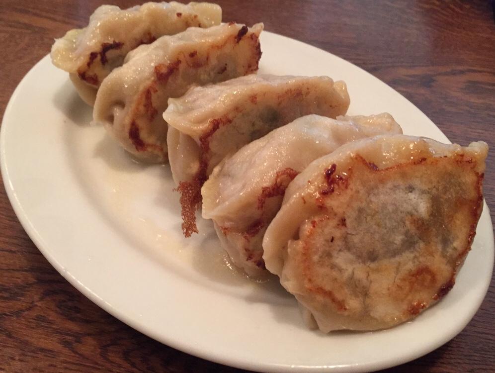 久米食堂 椎茸餃子 椎茸ギョーザ