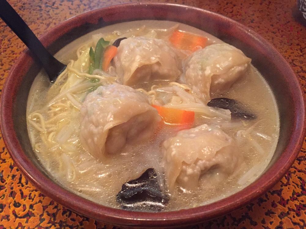久米食堂 ワンタン麺