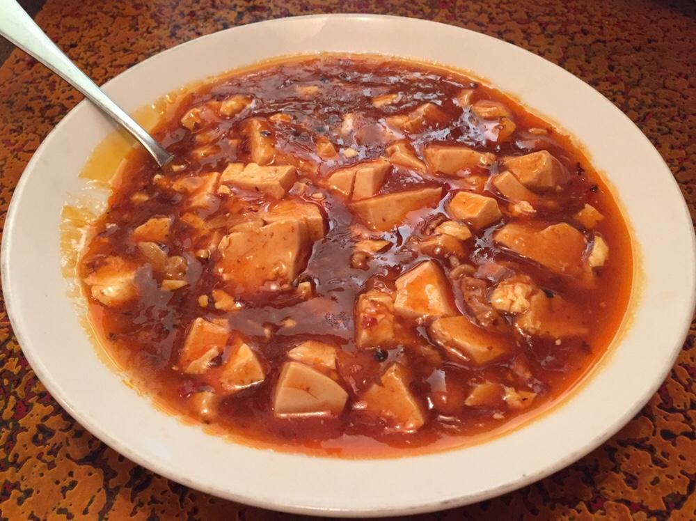 久米食堂 麻婆豆腐