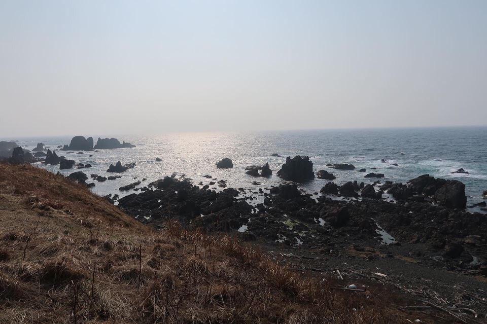 秋田県男鹿市 入道崎
