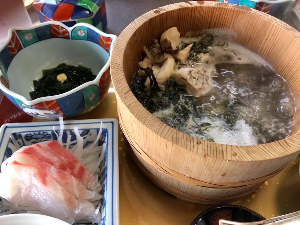 元祖石焼き 美野幸(みのこう) 天然真鯛の石焼定食