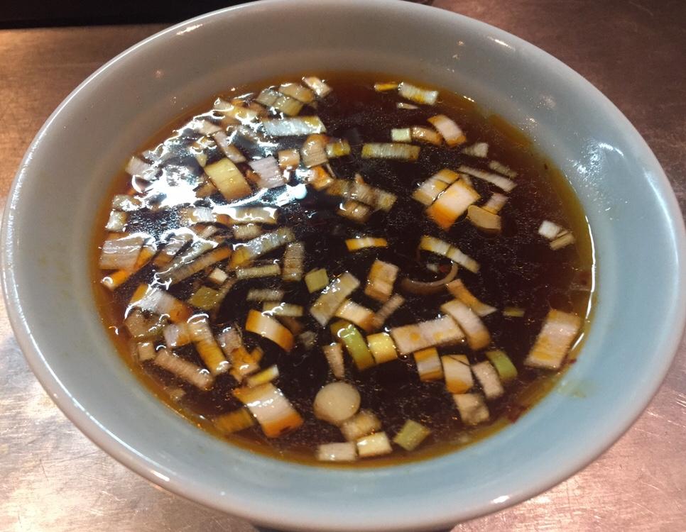 人形町 花 麺やまらぁ 8周年イベント 丸長インスパイアつけそば つけ麺 スープ つけ汁