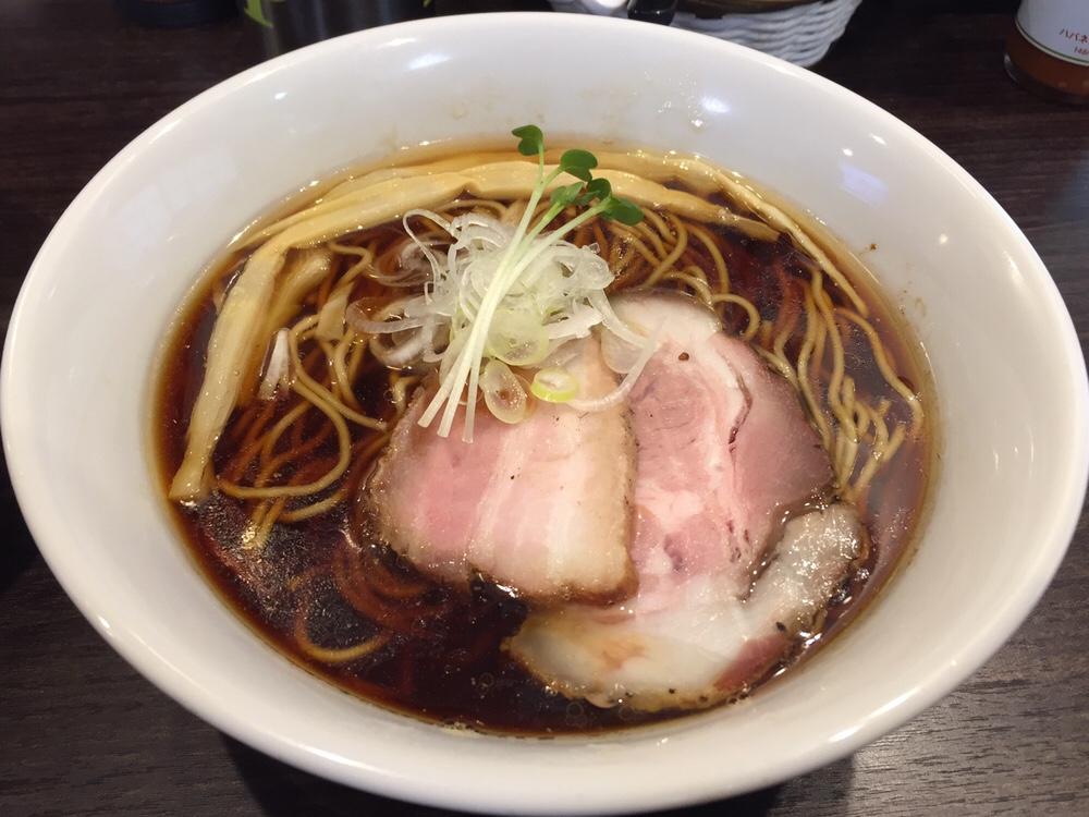 かしわぎ 東中野 醤油ラーメン