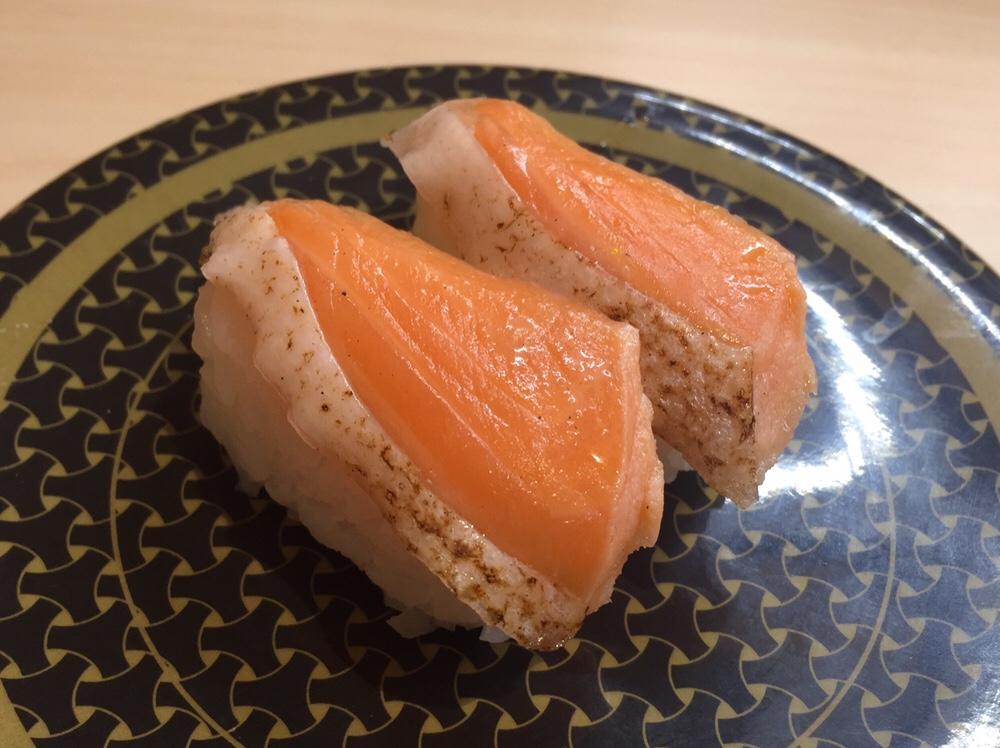 はま寿司 秋田広面店 焼とろサーモン