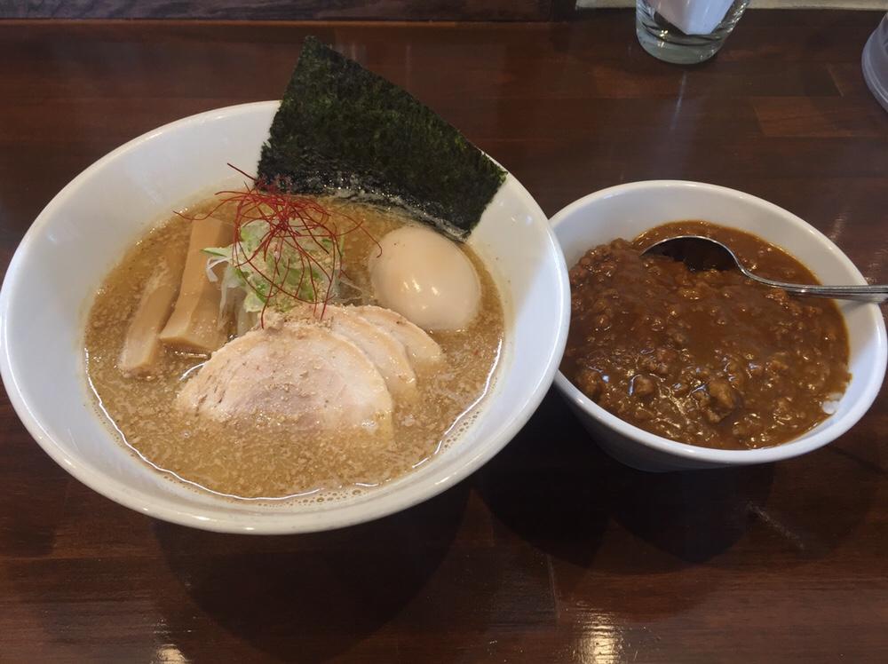 NOODLE SHOP KOUMITEI(香味亭) 煮干し香る味噌ラーメン ミニカレー