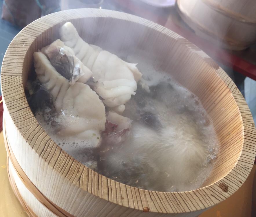 元祖石焼き 美野幸(みのこう) 天然真鯛の石焼