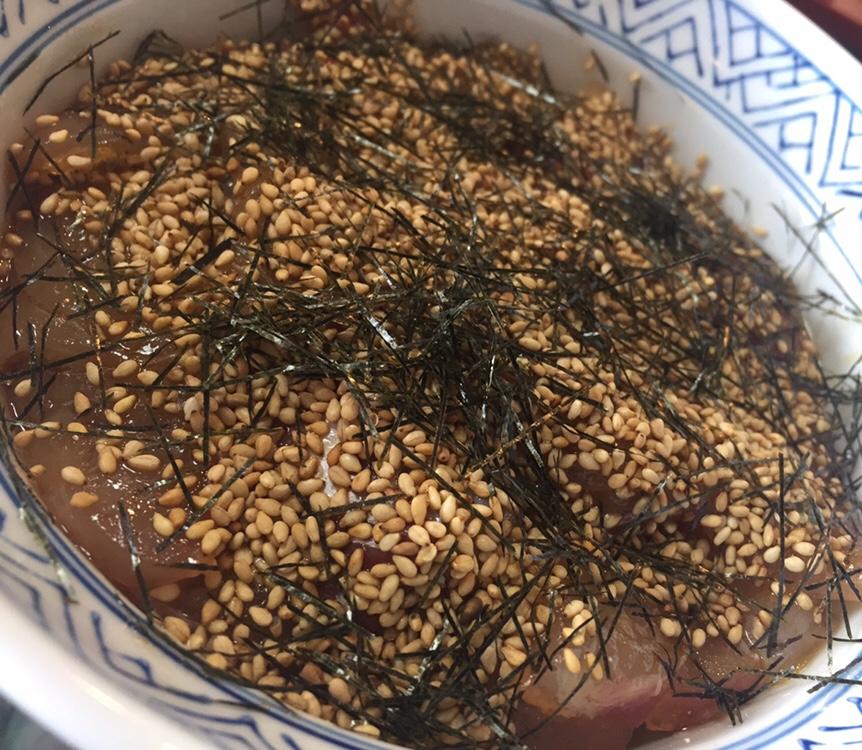 元祖石焼き 美野幸(みのこう) 鯛の漬け丼ぶり