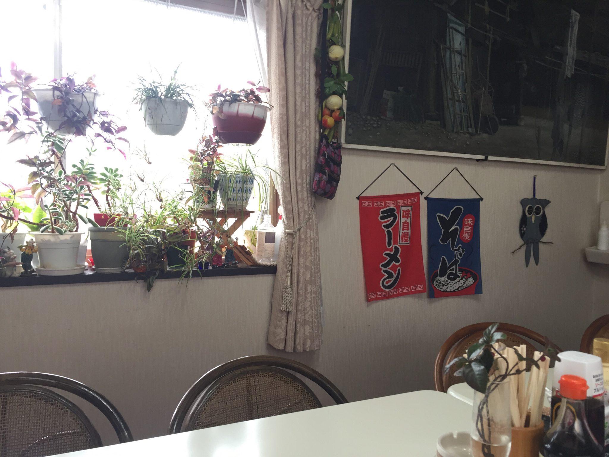 清山食堂 店内