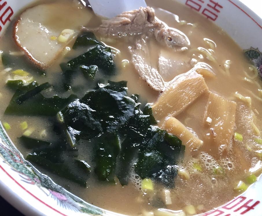 清山食堂 1/2カレーとラーメンセット 具