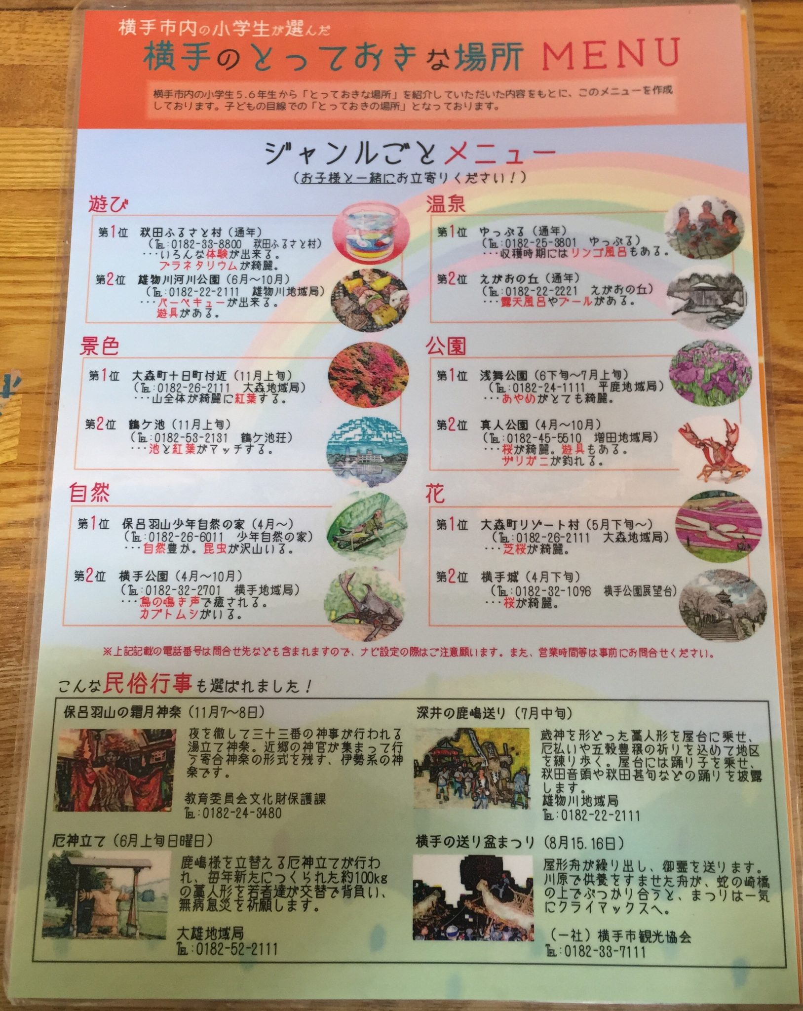 麺ならおまかせ 福龍 メニュー 横手観光案内