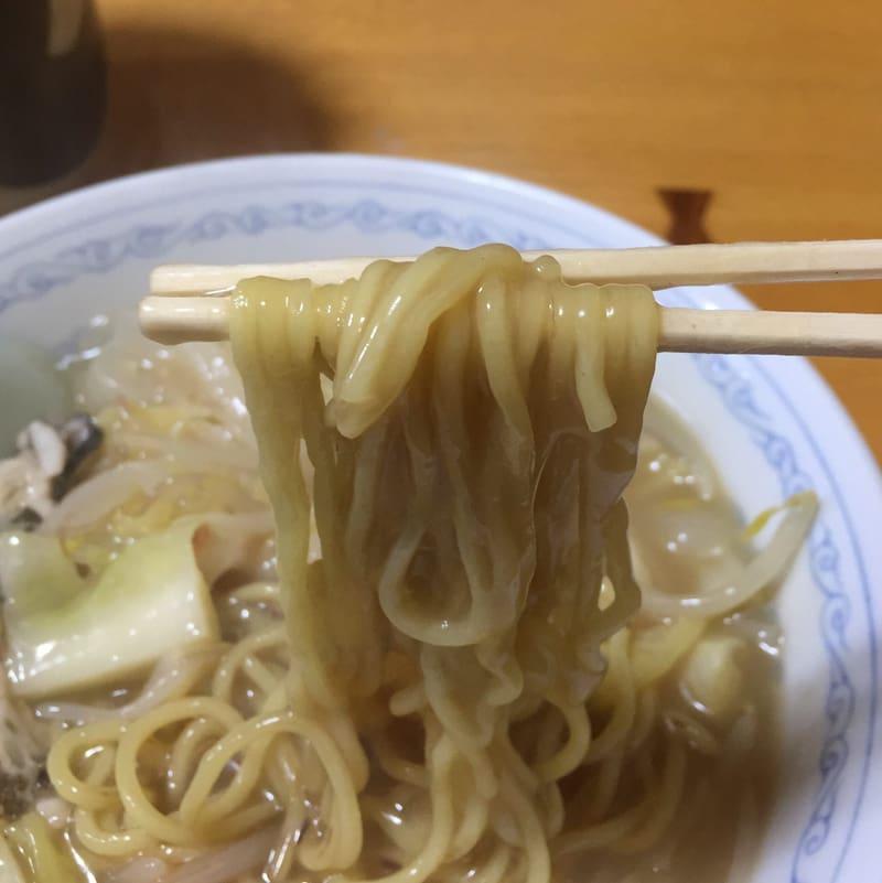 めしやのちゃんぽん 秋田市土崎 あんかけちゃんぽん 餡かけチャンポン 麺