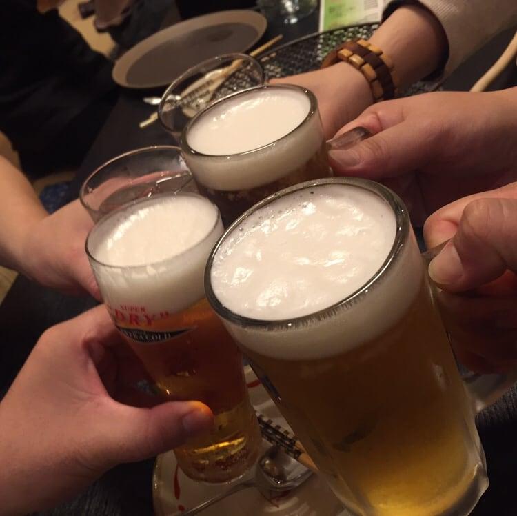 ホルモン伸栄 山王店 乾杯