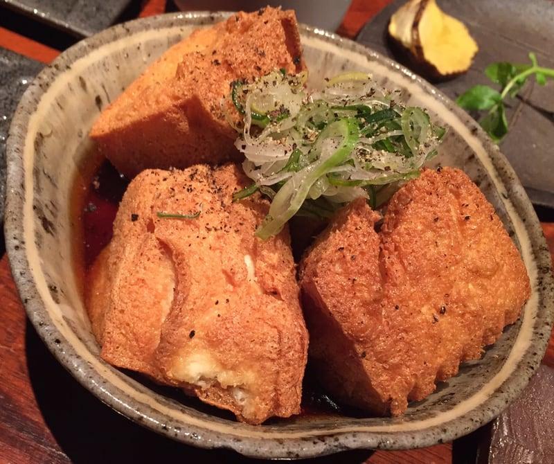 とっぴんぱらりのぷ 秋田市千秋 揚げ出し豆腐