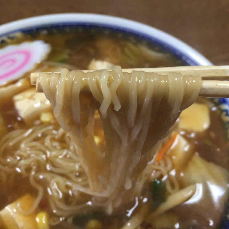 つばくら食堂 マーボラーメン 麺