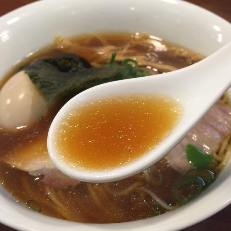 柳麺 多むら 外旭川店 醤油らぁ麺 スープ