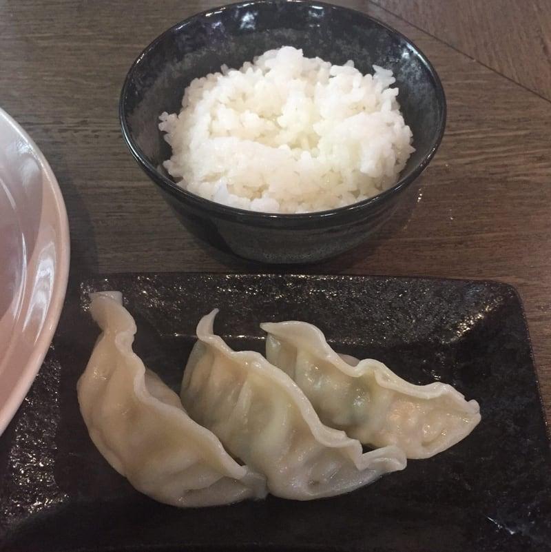 麺屋そうじゅん Cセット 豚餃子 小ライス