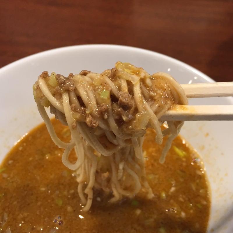 柳麺 多むら 外旭川店 担担つけ麺 麺