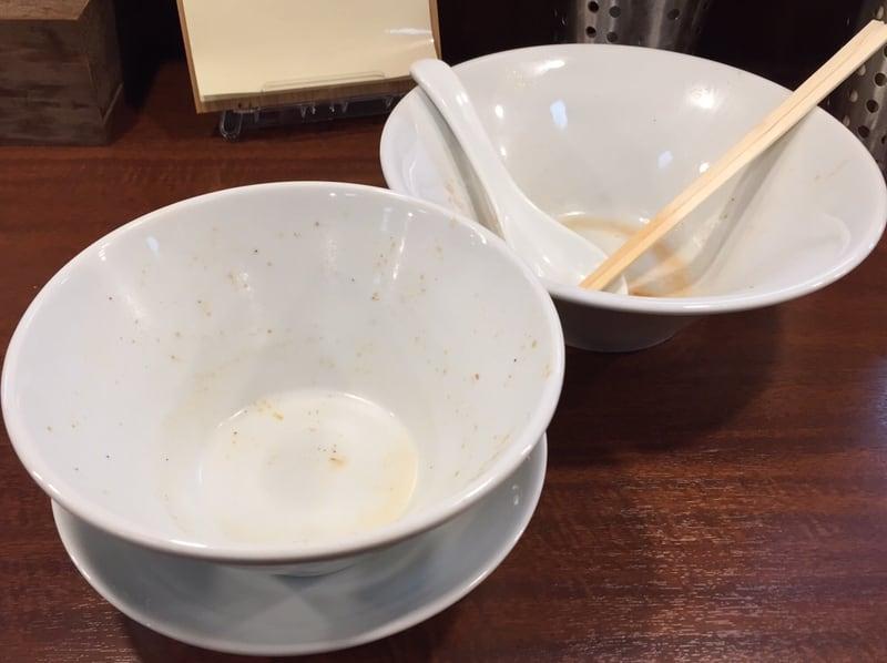 柳麺 多むら 外旭川店 担担つけ麺 完食