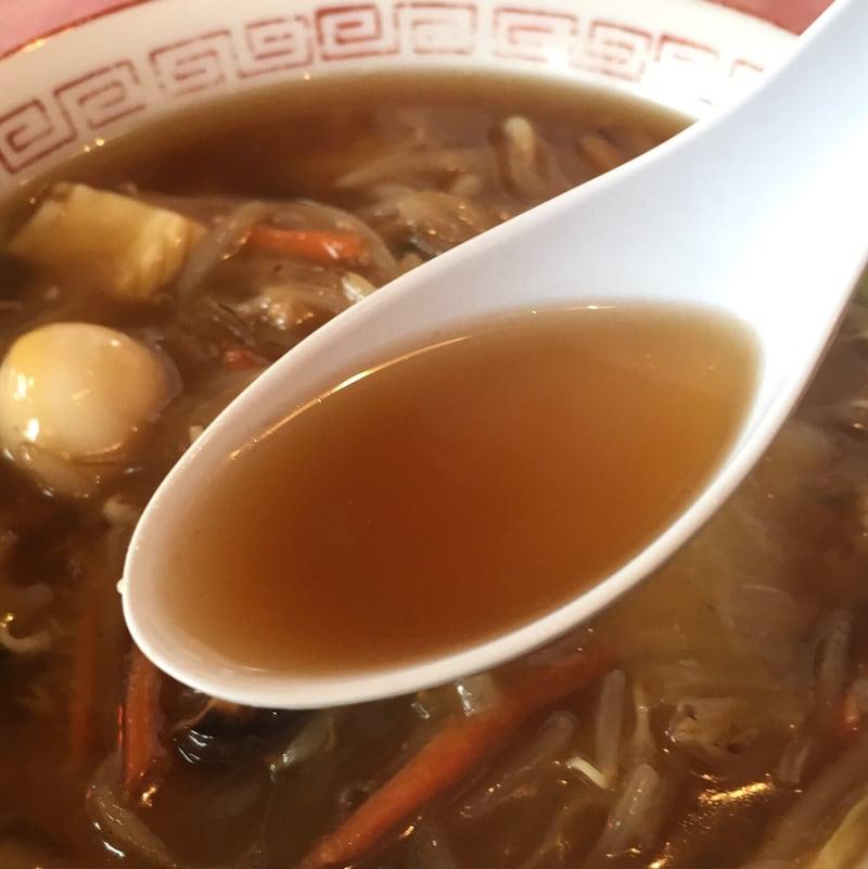 ご飯・ラーメン いこい いこい食堂 五目中華 スープ