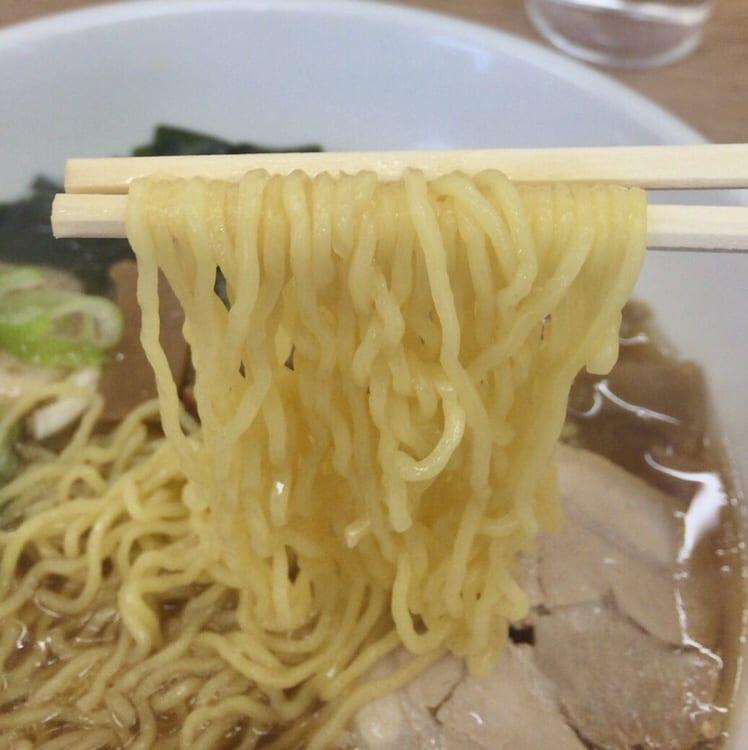 活力らーめん 十文字家 特製 中華そば 麺