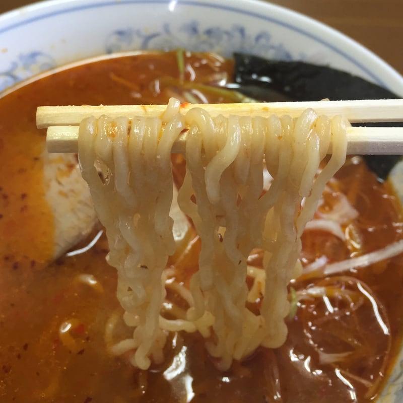 らーめん愛桜 激辛スペシャル 激辛ラーメン 麺