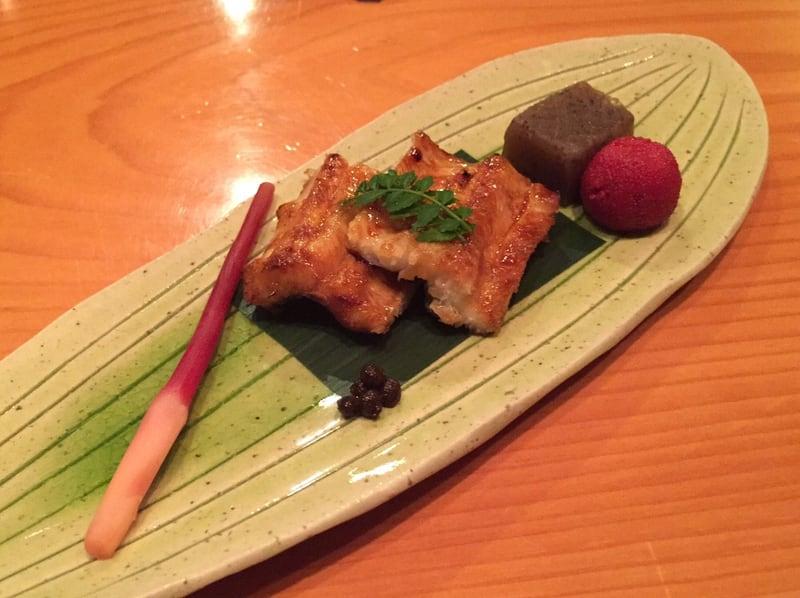 日本料理たかむら 秋田市大町 焼き物 鰻
