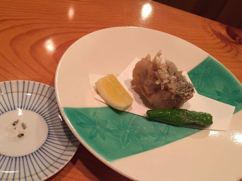 日本料理たかむら 秋田市大町 揚げ物 鰆 獅子唐