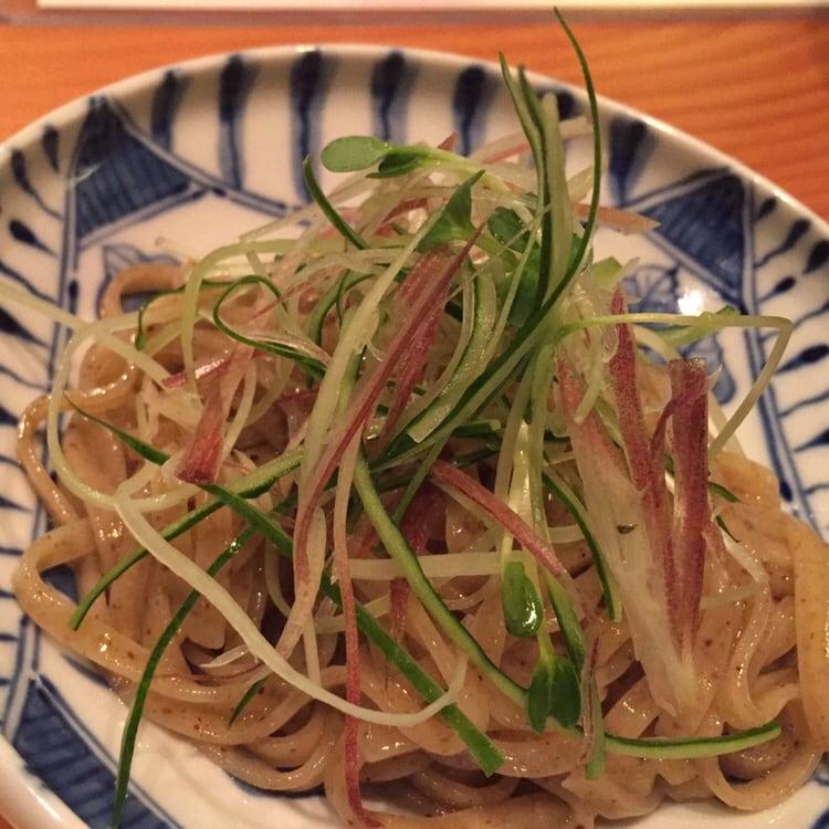日本料理たかむら 秋田市大町 たかむら麺 具