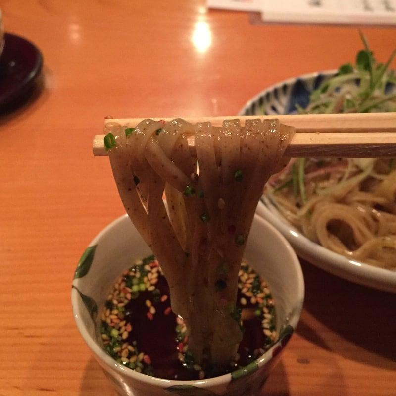 日本料理たかむら 秋田市大町 たかむら麺 麺