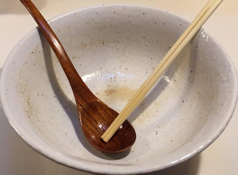 麺屋とんぼ庵 十割そばとんぼ庵 醤油らぁめん 醤油ラーメン 完食